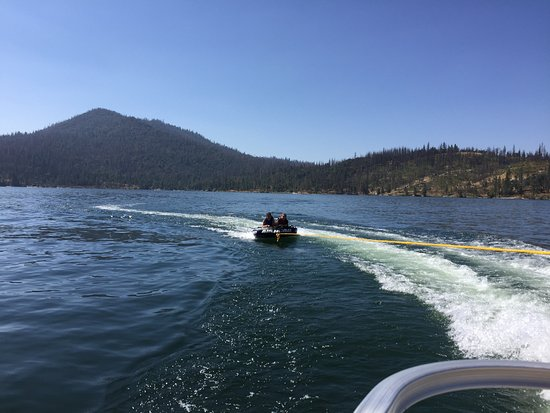 Bass Lake Water Sports Boat Rentals: Rented the tube for $35 and had tons of fun with it!