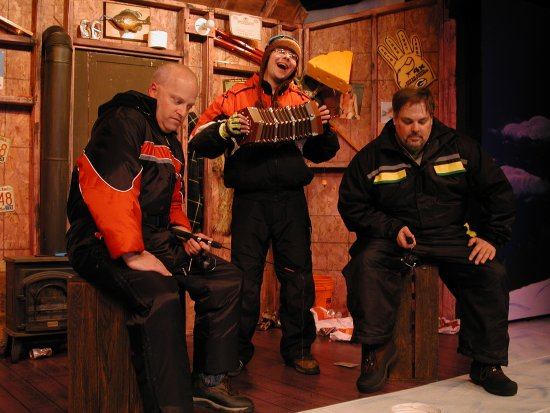 St. Croix Off Broadway Dinner Theatre: Guys on Ice