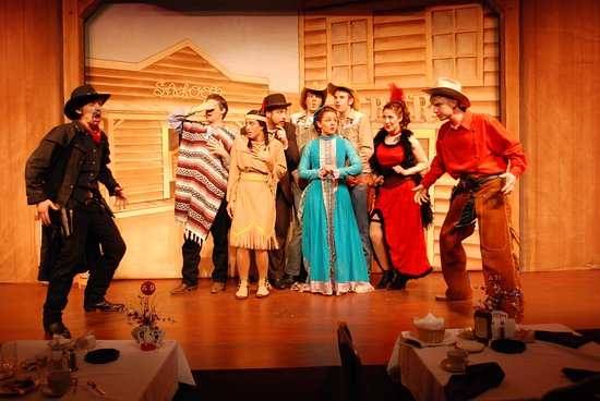 St. Croix Off Broadway Dinner Theatre: Way Out West or The Legend of the Ricochet Kid