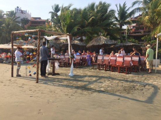 هوتل أورا ديل مار: The wedding ceremony had a wonderful set up and an ever better view