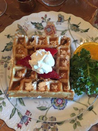 Delish breakfast and beautiful stay