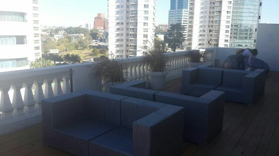 After Hotel Montevideo: Terraza