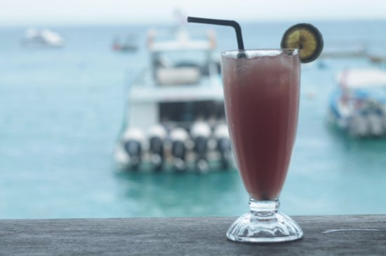 Bar & Cafe Bali: Refreshing guava juice with lime