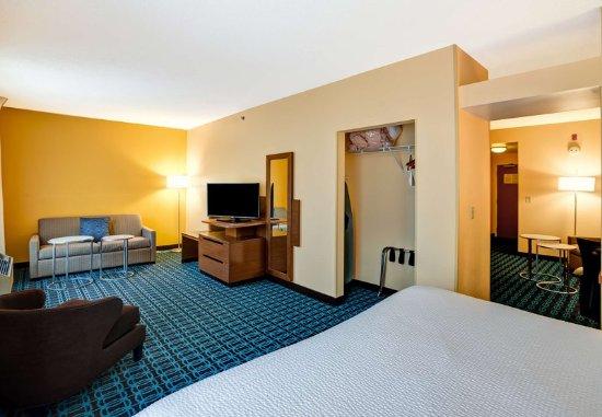 Christiansburg, VA: Presidential Suite - Living Area