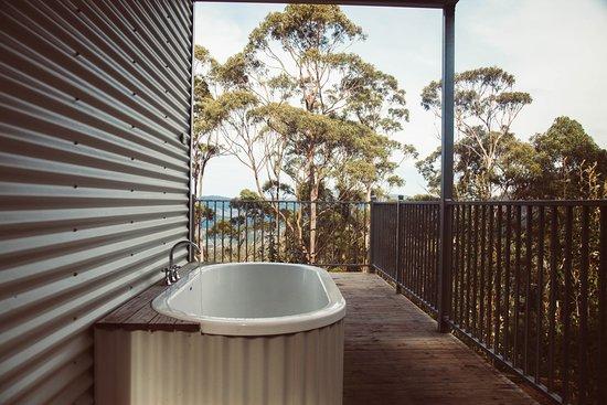 Huonville, Australia: Outdoor Bathing