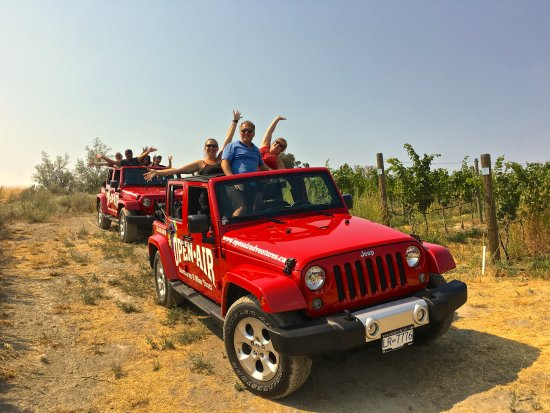 Penticton, Kanada: OpenAir Adventures Off-Road Vineyard Tour