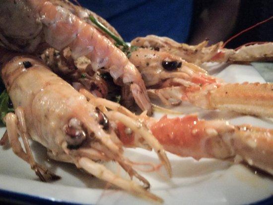Restaurant Riva1: Piatti curati! Una rarita a Corciula