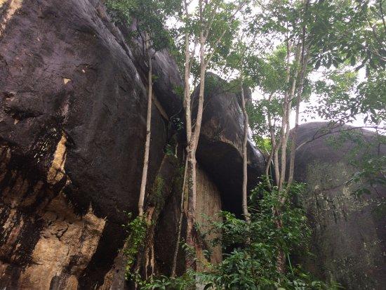 Kollam, India: Jatayu Rock