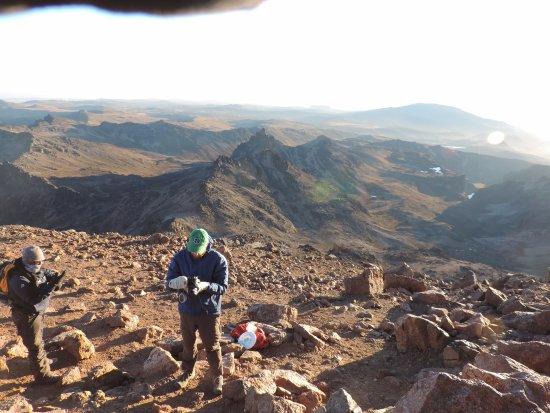 YHA Kenya Travel: Climbing Mt Kenya guided by YHA-Kenya Travel, experts in Mountaineering, Mountain Climbing Adven