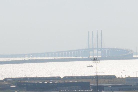 Clarion Hotel Copenhagen Airport: Pont le plus long sur la mer Copenhague