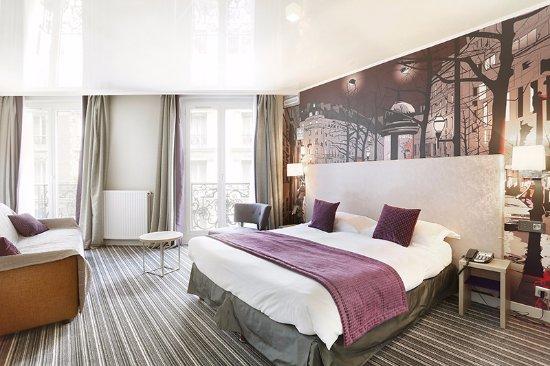 Hotel Harvey : Chambre Etoile : minisuite avec coté salon