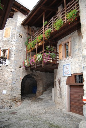 Medieval Village of Canale Photo