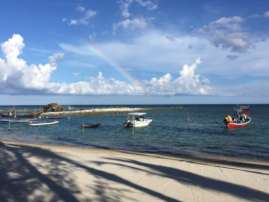 Samahita Retreat: Chanced upon a rainbow