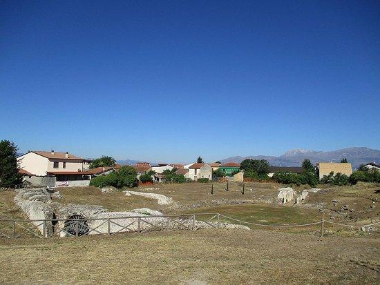 San Benedetto dei Marsi, Itália: I resti dell'anfiteatro di Marruvium