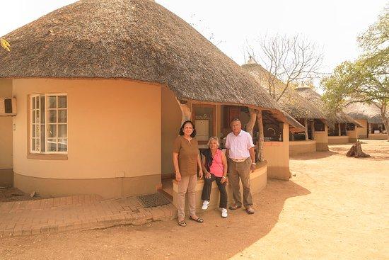 Satara Rest Camp: Bungalow where we stayed