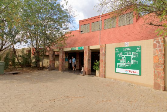 Satara Rest Camp: Reception, Store and Restaurant housed here