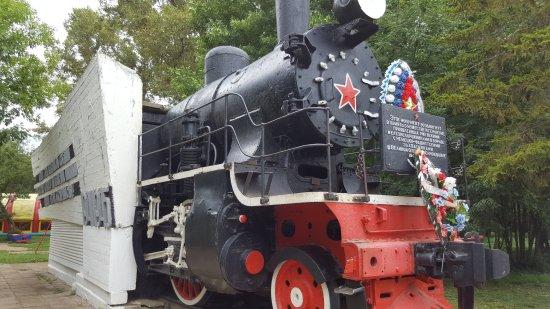 Steam Locomotive Monument
