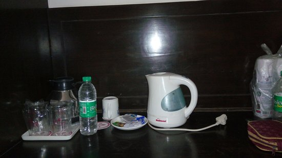 Hotel Nagpal Regency: No plgu point for the electric kettle
