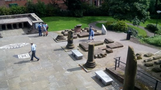 Chester Roman Gardens : From above