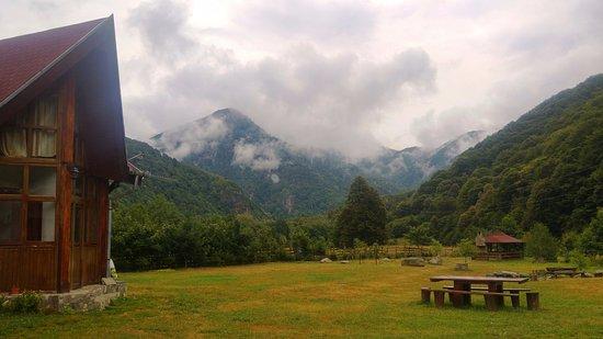 Rau de Mori, Romania: Garden