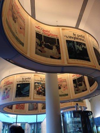 Musée Hergé : Le petit café du musée