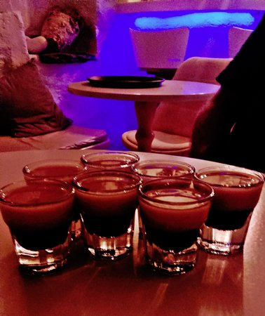Anchorage Cafe Bar: Shots, last night of vacations! Will never forget that beautiful night of summer!