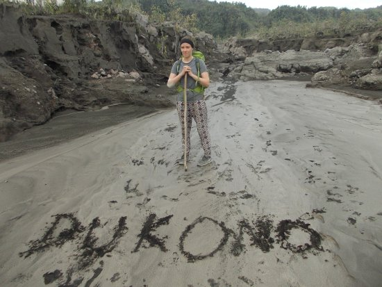 Halmahera, Indonesia: at Dukon old Crater