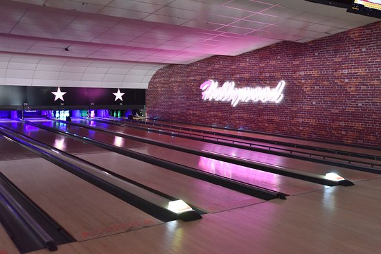 The lanes at Hollywood Bowl Bolton