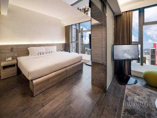 Lodgewood by L'hotel Mongkok Hong Kong: k.suite - Bedroom