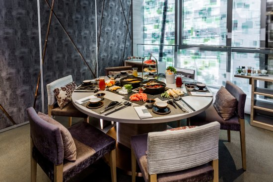 Lodgewood by L'hotel Mongkok Hong Kong: canton pot - Hot Pot Dinner