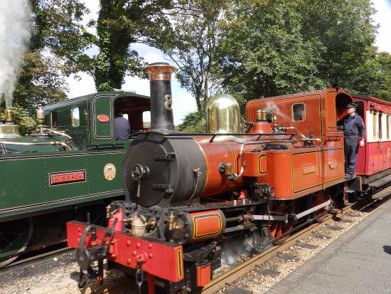 Isle of Man Bus and Rail : IOM Steam
