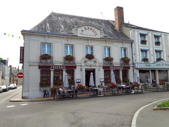 Saint-Calais, France : La Banque