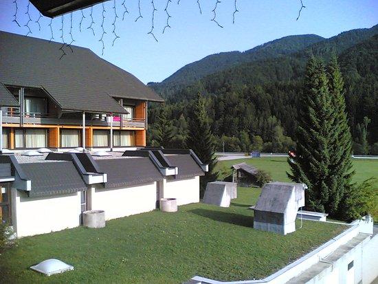 Hotel Kompas: Panorama dal balcone(dietro)