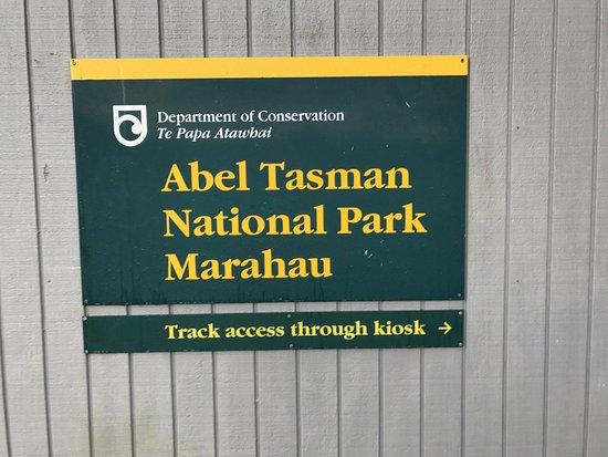 Abel Tasman Coast Track: si inzia