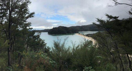 Abel Tasman Coast Track: panorama