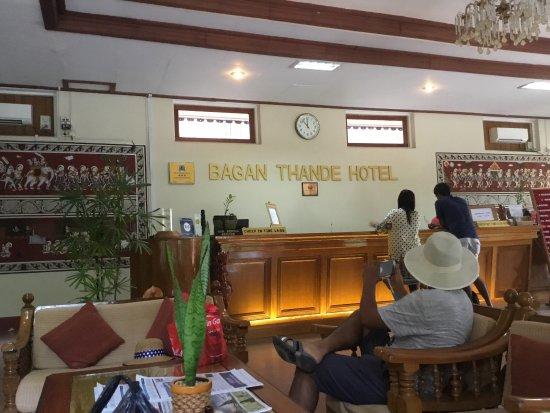 Thande Hotel Bagan : photo0.jpg