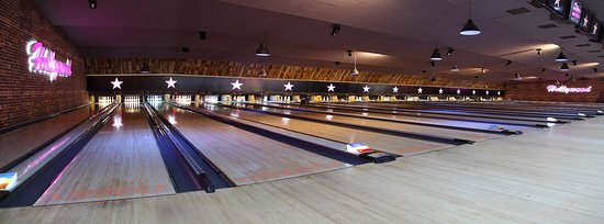 The lanes at Hollywood Bowl Stevenage