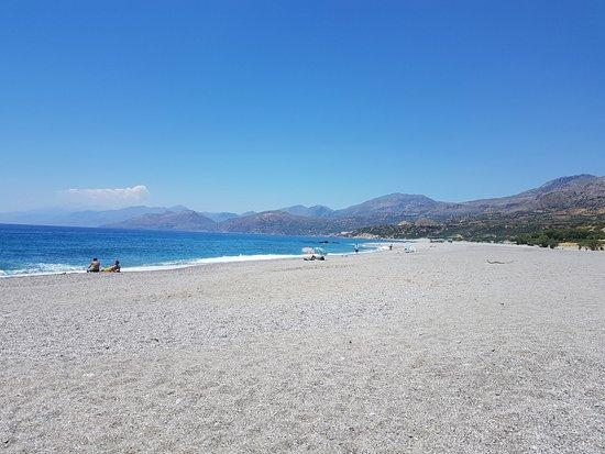 Triopetra Beach: schöner langer Stand der nicht überlaufen ist