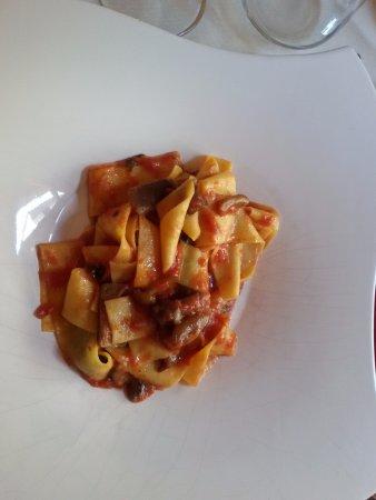 Ristorante Cavalier Bruno : Pasta con sugo di funghi