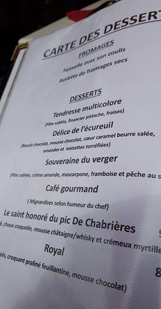 Reallon, Fransa: Un lieu ,un accueil et des plats hors du commun .Une escale vers un moment de plaisir, allez-y s