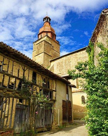 Gers, France : Village d'Aignan