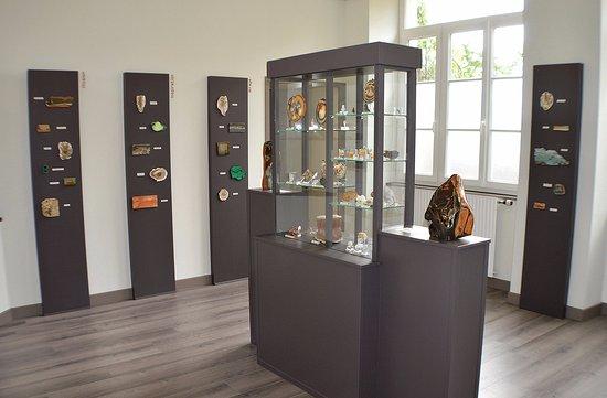 Musée des Minéraux : Le Mange Cailloux