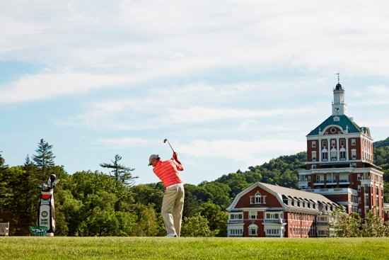 Hot Springs, VA: Golf on two renowned courses, The Cascades and The Old Course.