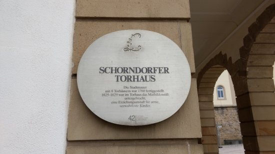 Easy to miss, but an interesting part of Ludwigsburg's history