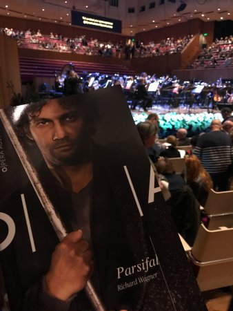 Concert Hall during second performance of Opera Australia's Parsifal