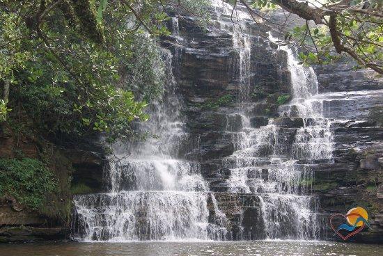 Vicosa, MG: cachoeira do Rio