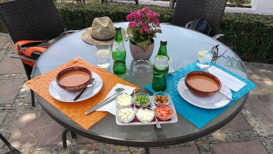 Benarraba, Spain: Gazpacho andaluso