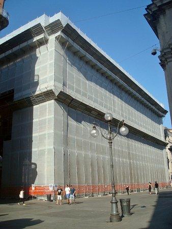 Palazzo della Ragione : In corso i lavori di restauro