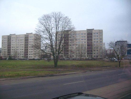 Fortuna Hostel: La periferia di Vilnius