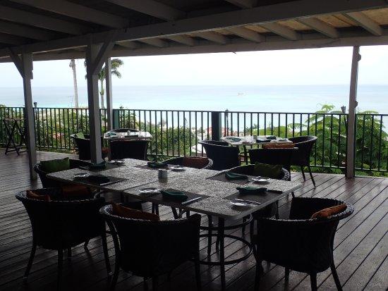 The Bay House Restaurant & Bar: Bay House Restaurant sea views